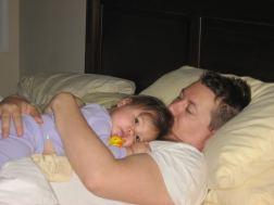 2007 - Gabi always slept on me